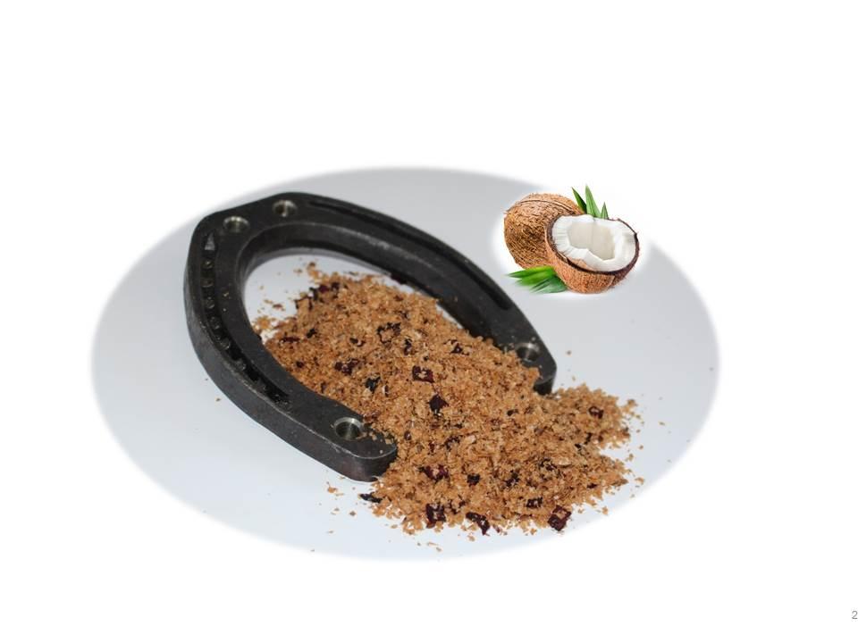 Weizenkleie/Rote Beete/Kokosöl